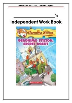 Geronimo stilton secret agent book report